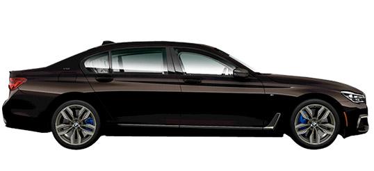 BMW chauffeur service
