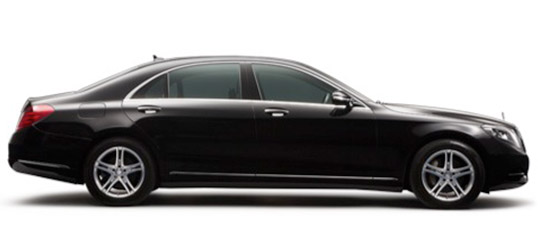 Mercedes chauffeur service