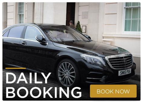 Daily booking chauffeur