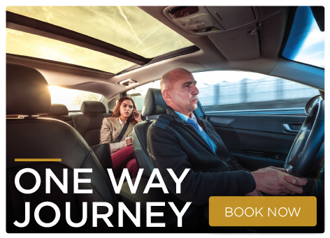 One way journey chauffeurs